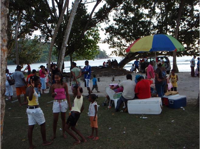 Beach Parties In Seychelles