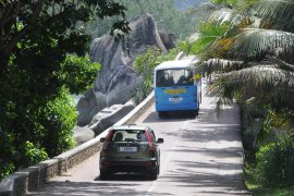 Drive and shoot in Seychelles