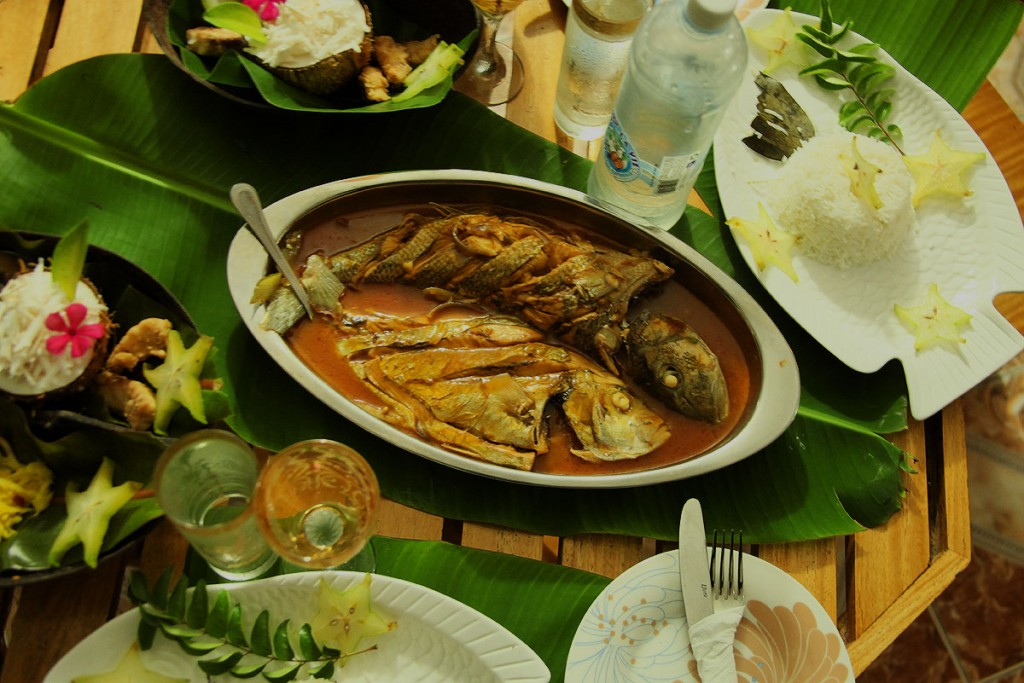 Seychellois Fish Curry