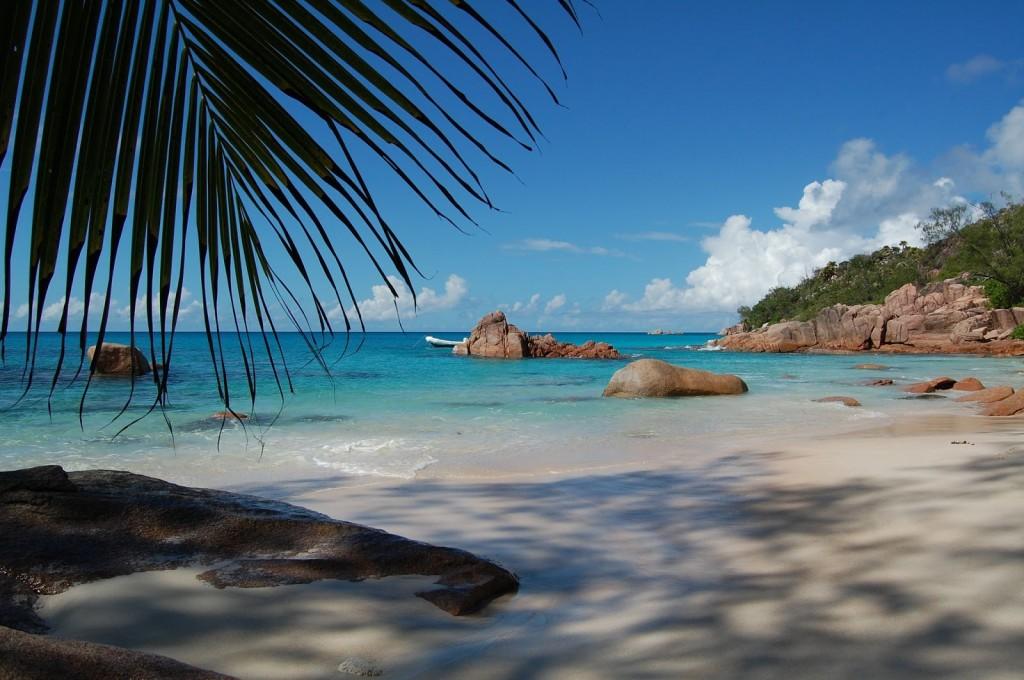 Curieuse beach