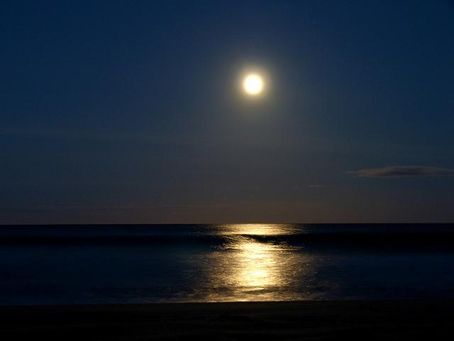 Moonrise At Dusk- Mauritius