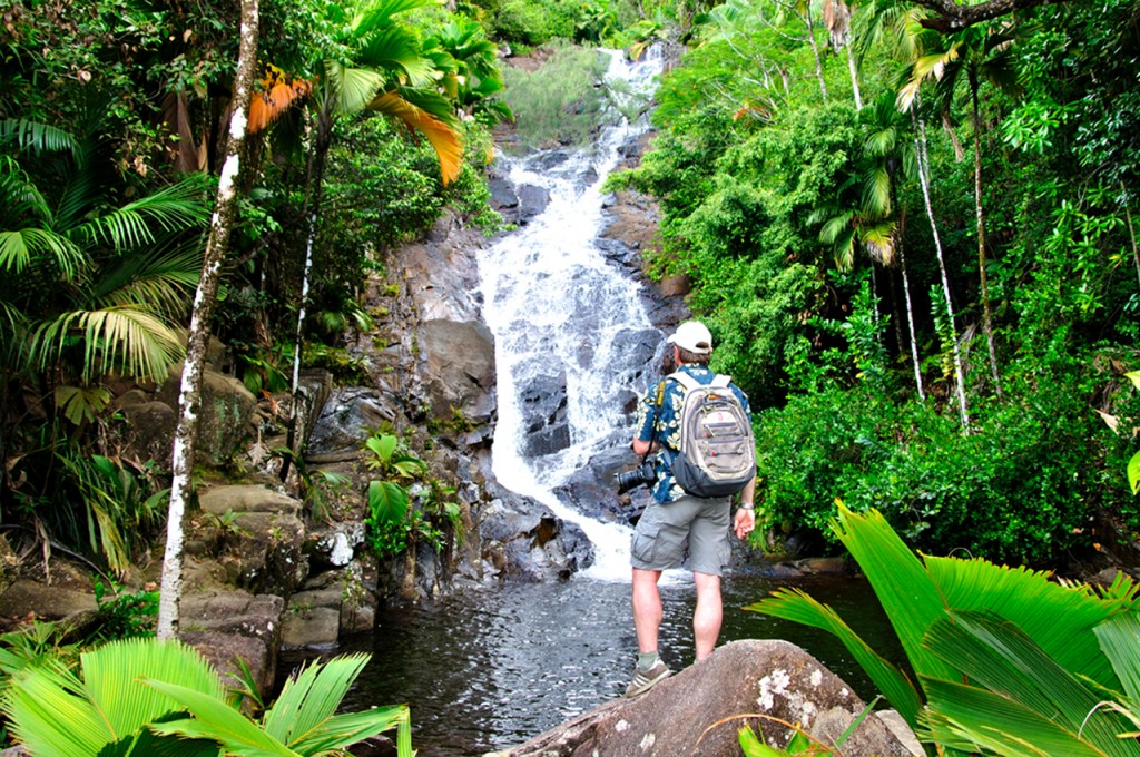 Hiking in the Seychelles