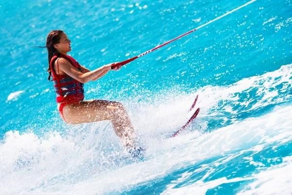 Water skiing Mauritius