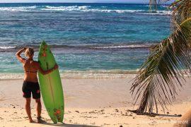 Surfeur Réunion