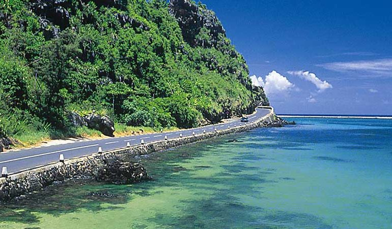 Mauritius road network