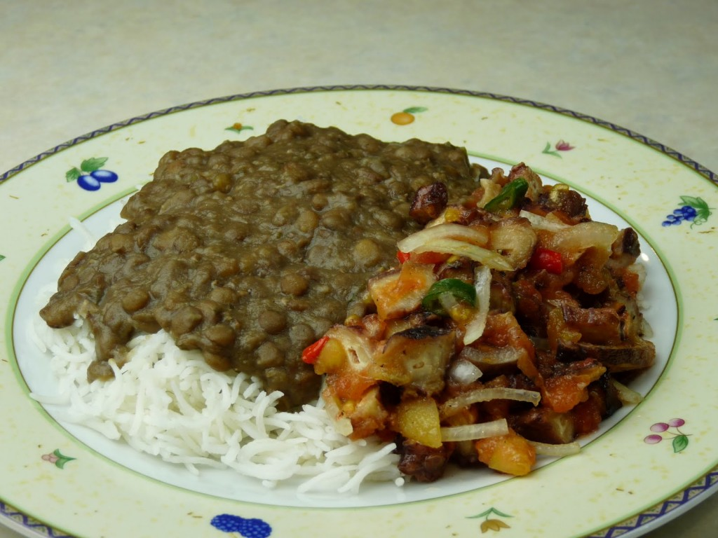 Typical Mauritian Dish