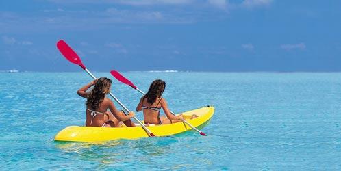 Kayaking Mauritius