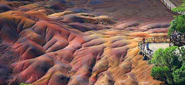 Seven Coloured Earths Mauritius
