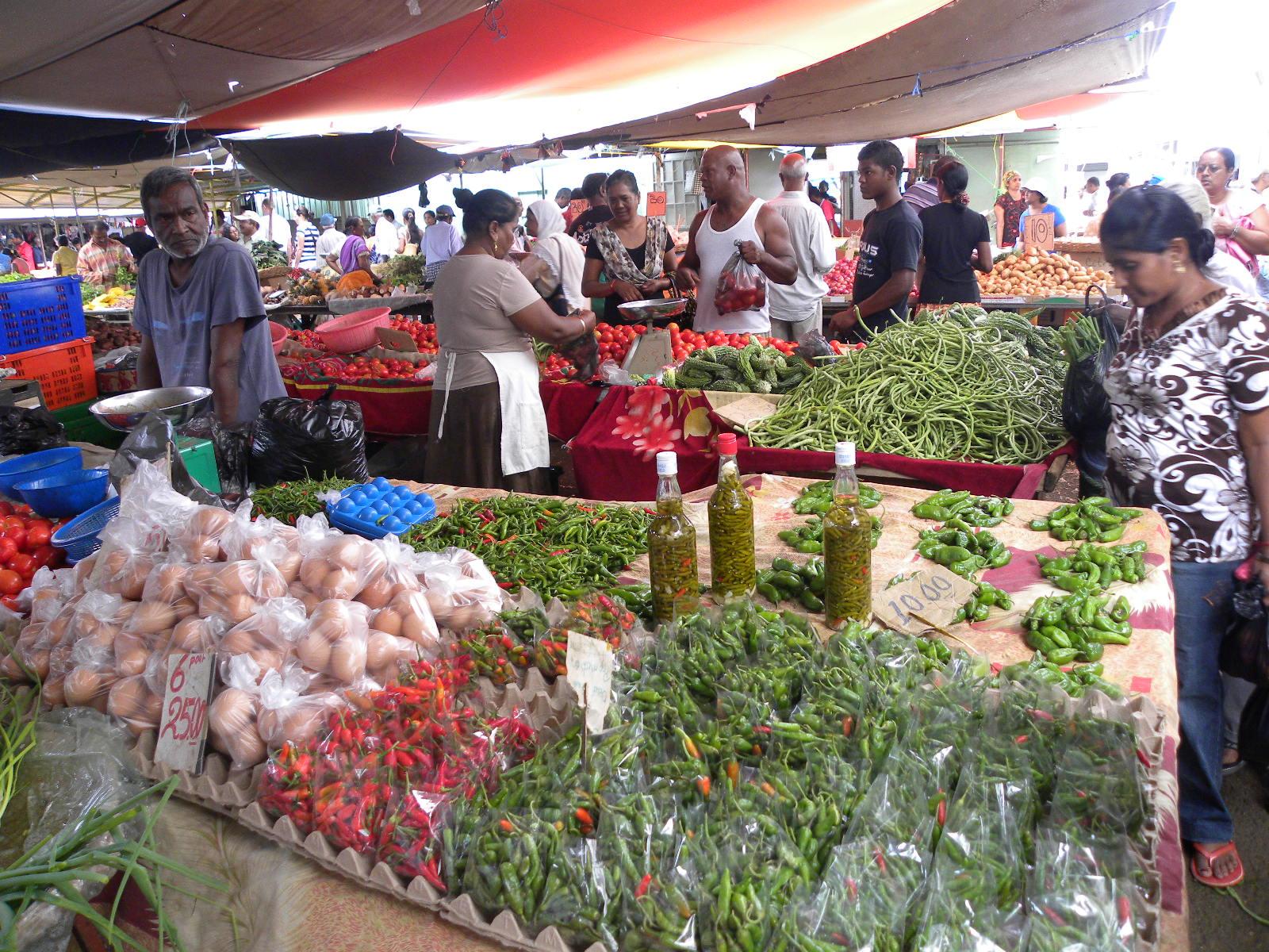 Mahébourg Market