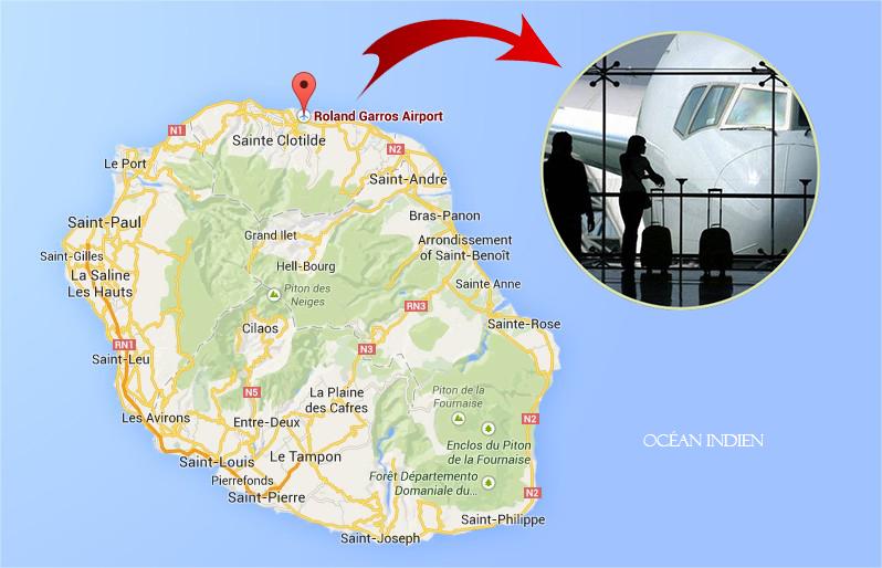 Airport Reunion Island