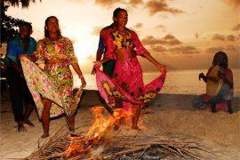 Seychellois-dancing-at-night-fall