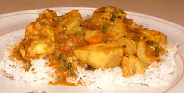 Chicken Curry Mauritius