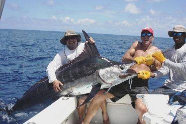 Big game fishing in Mauritius