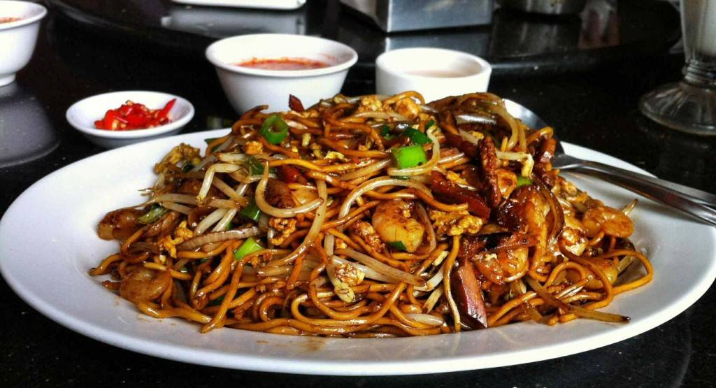 Mauritian-Mine-frire -(Fried-noodles)