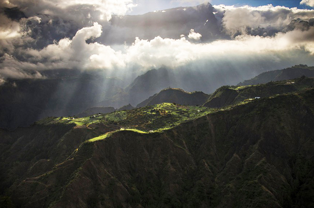 Cilaos village la Réunion