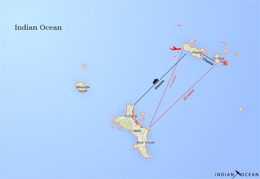 Voyager les îles du Seychelles
