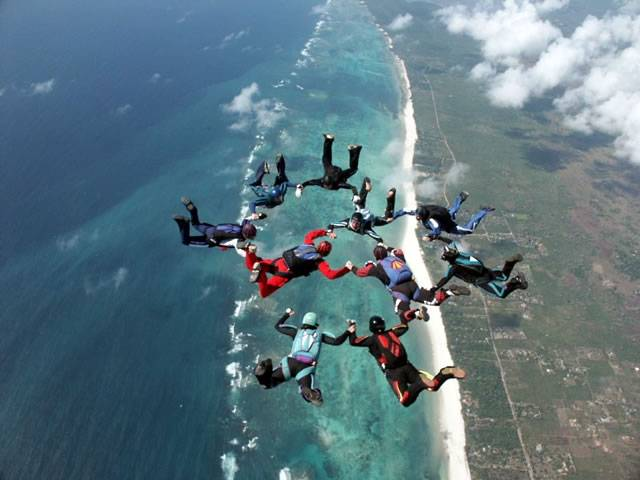 Skydiving-in-Mauritius