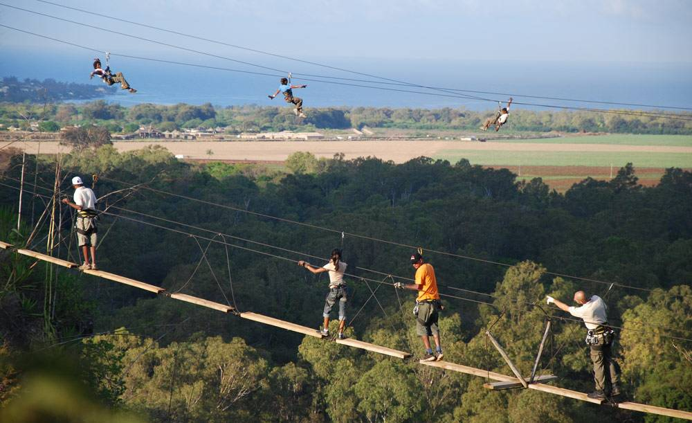 Zip-Lines-above-a-valley-in-Mauritius