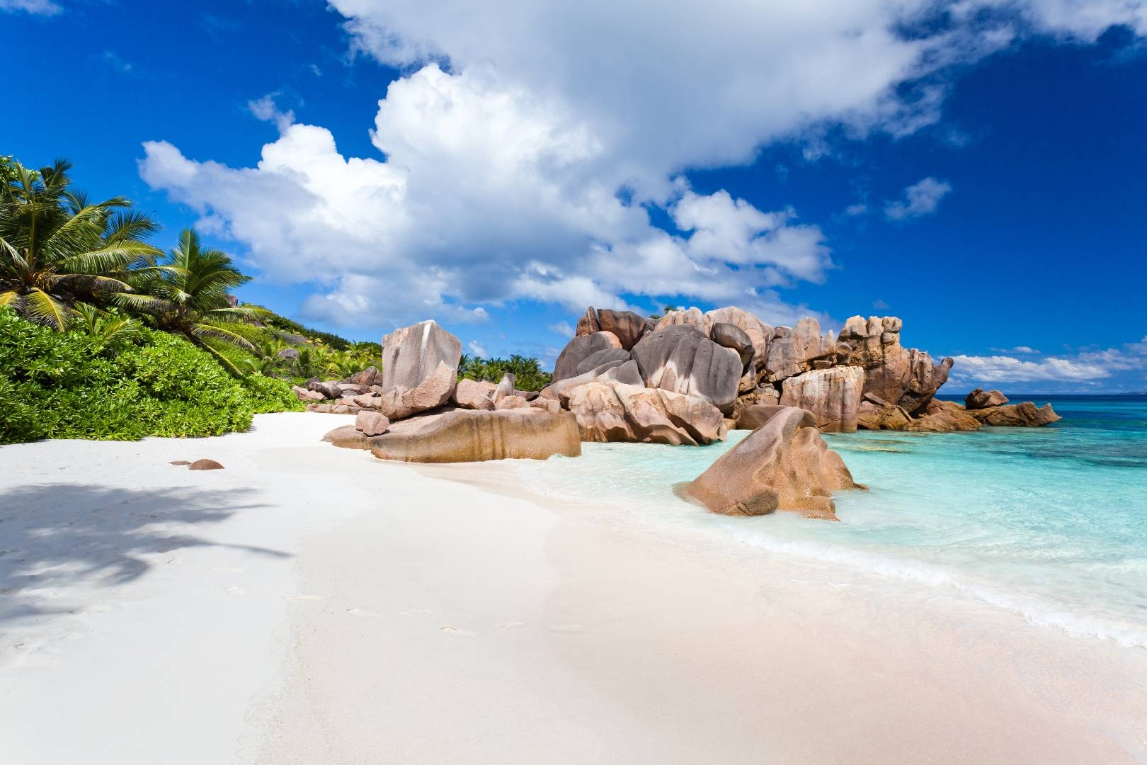 Grand Anse Beach on La DIgue