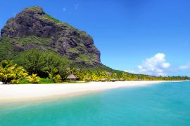 Le morne Brabant beach