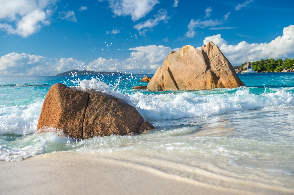 Anse Lazio plage Seychelles
