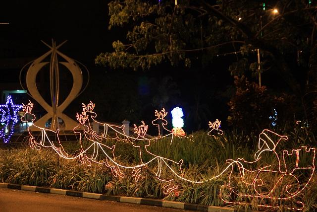 Xmas Deco Seychelles Night