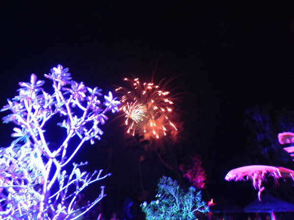 New Year in Seychelles