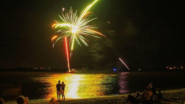 New Year In Reunion Island