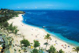 Boucan Canot beach