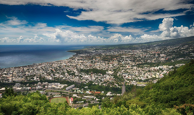 Capital City of Reunion Island