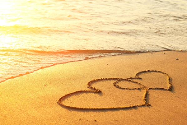 valentines day indian ocean
