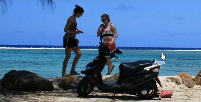 Location scooter à Maurice