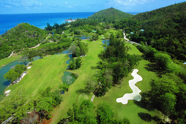Seychellois golf course
