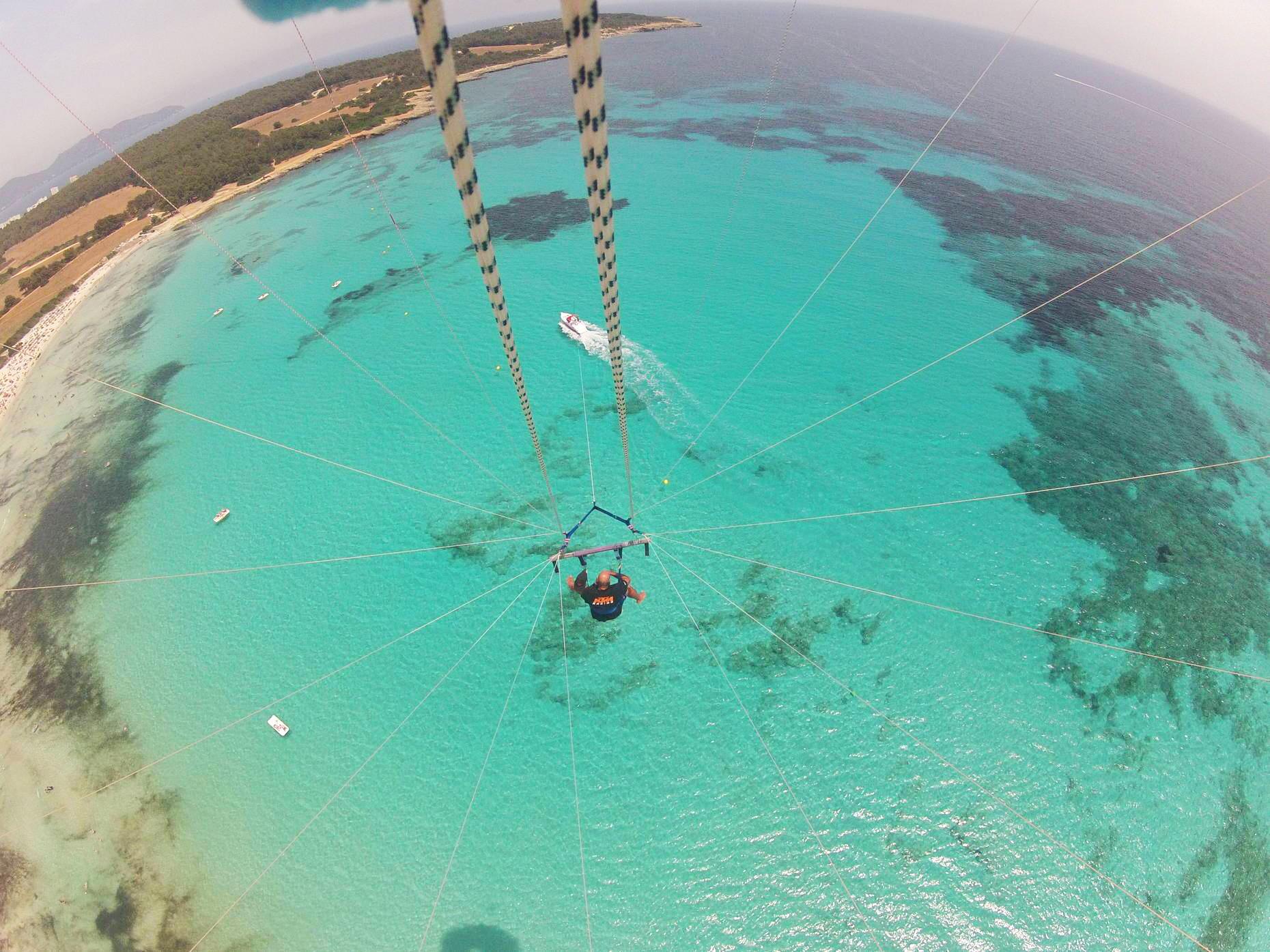 GoPro Mauritius Parasailing