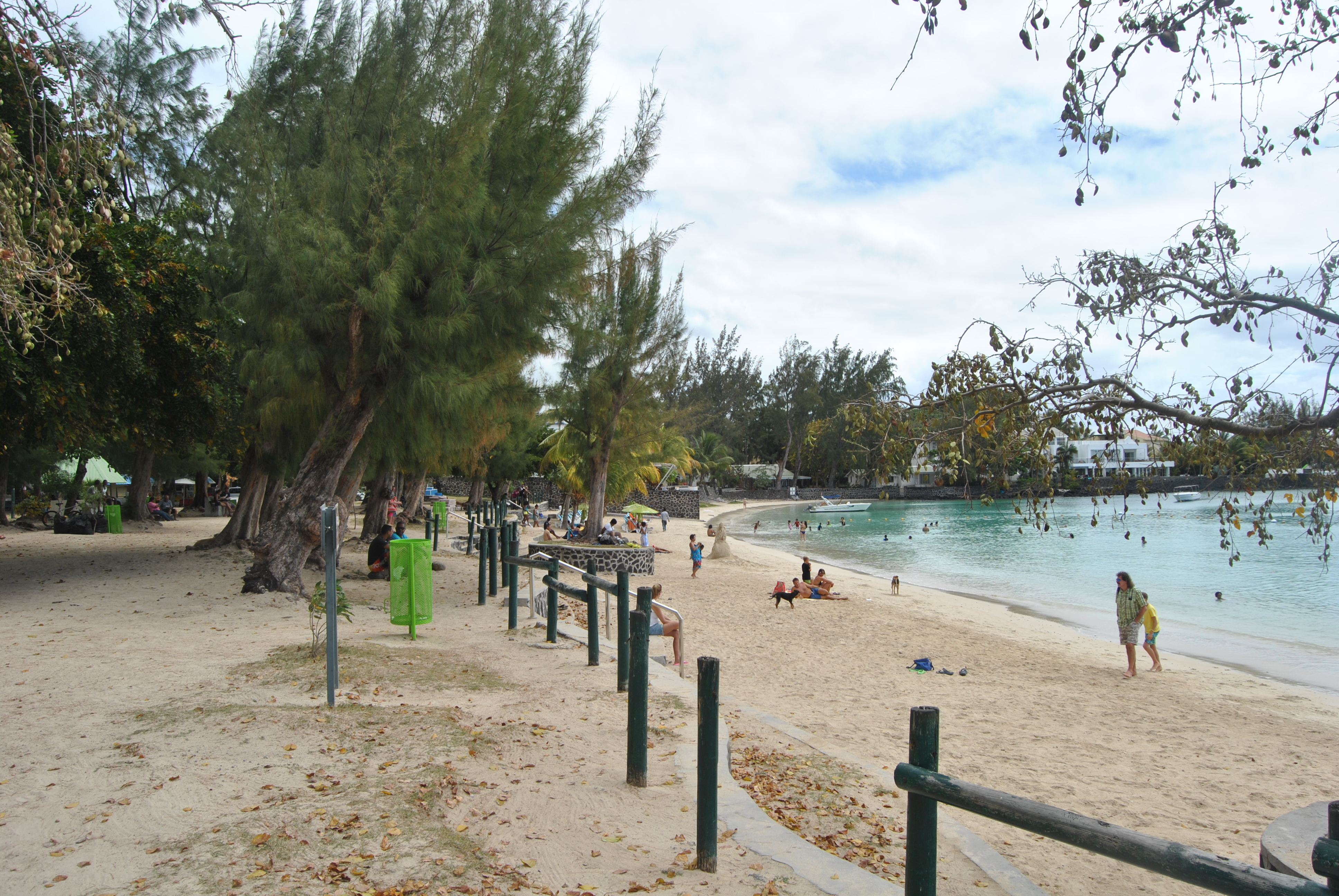 Péreybère beach Mauritius