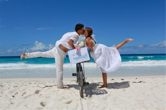 Mauritius wedding honeymoon