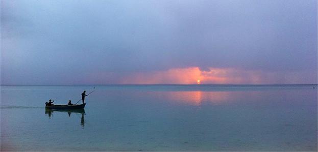Pointe aux sables Mauritius