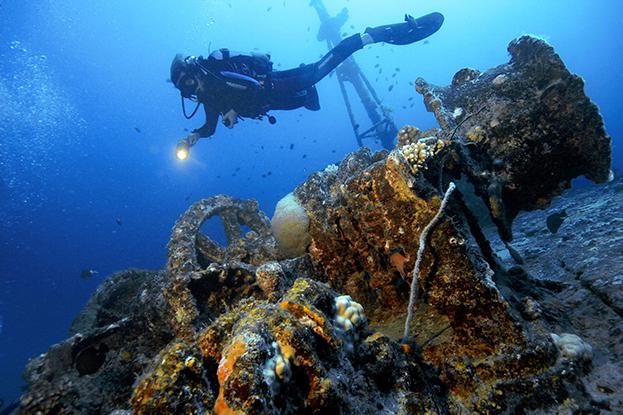 Wreck Stella Maru Mauritius