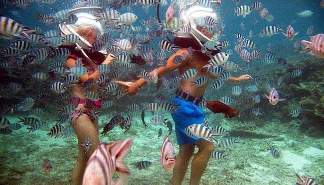 undersea walk mauritius