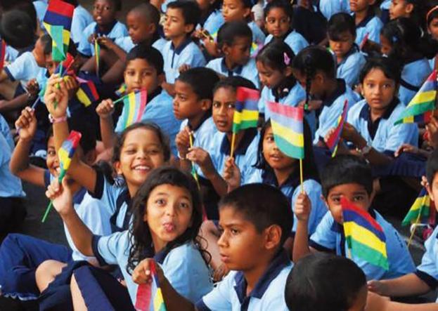 children of Mauritius