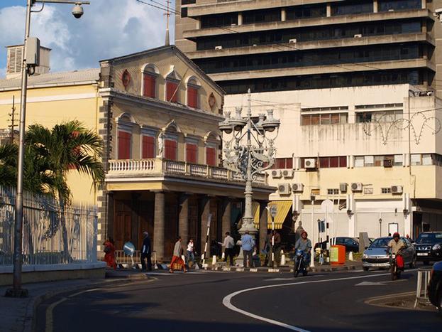 Port Louis Theatre Mauritius