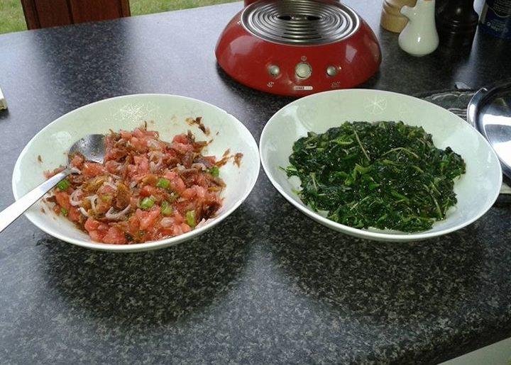 salted fish chutney