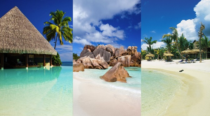 Seychelles maldives mauritius