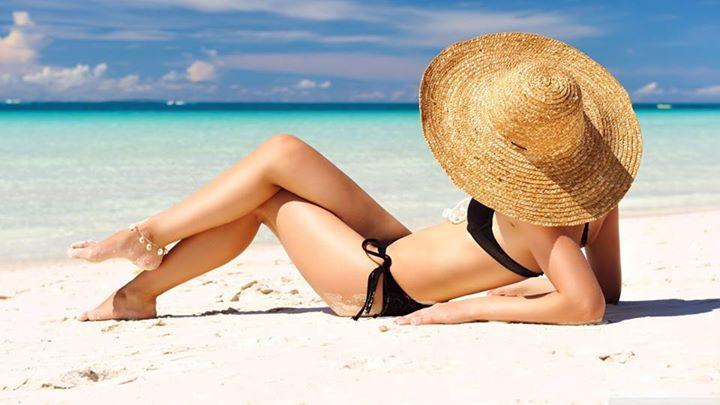 Beach climate Mauritius