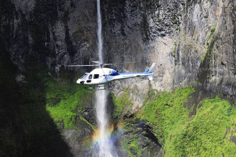 reunion helicopter