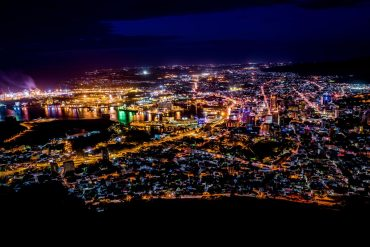 Port Louis at night