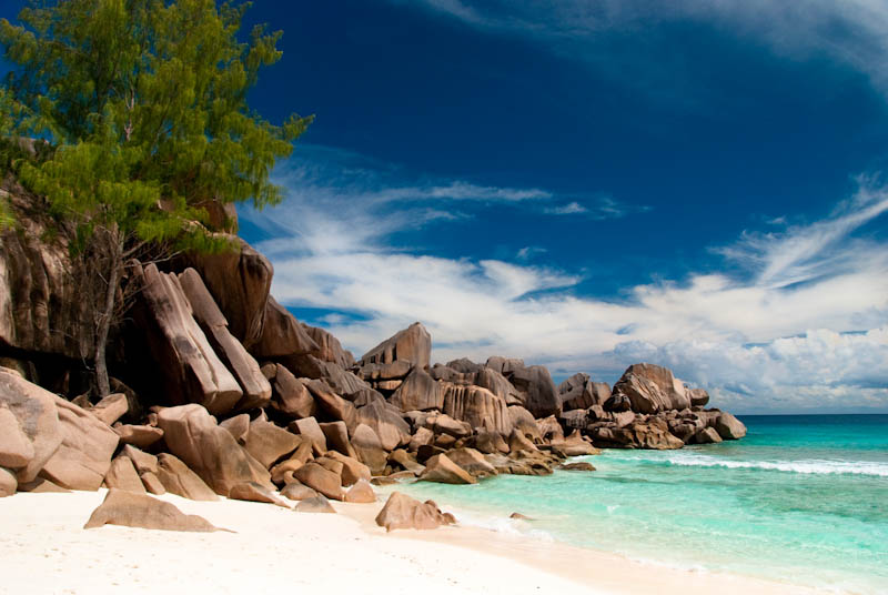 Seychelles - La Digue - Grande Anse