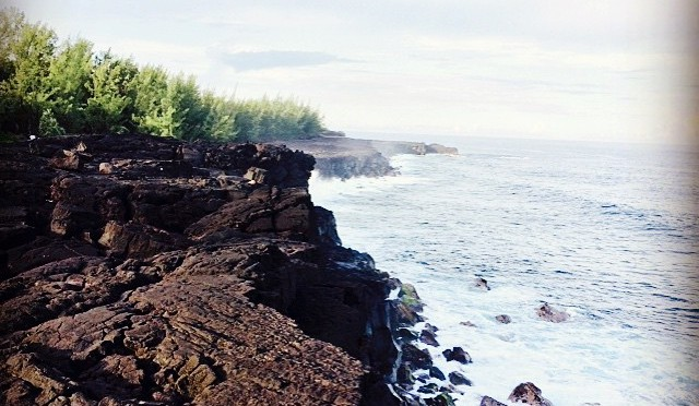 Reunion Island Lava Flow