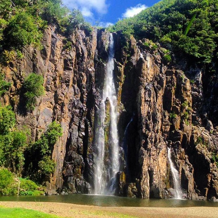 Reunion Island waterfalls