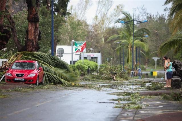 Cyclone à la Réunion